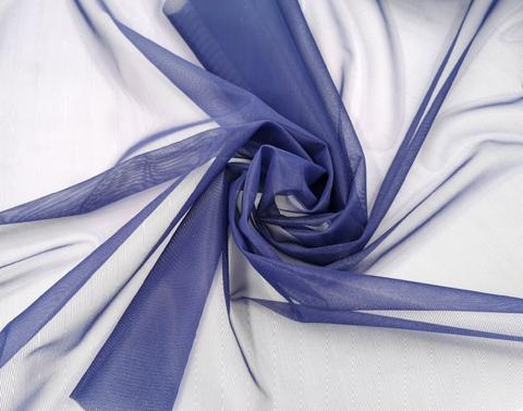 Корсетная сетка, средней жесткости, темно-синий,  (Арт: KS-061.S)