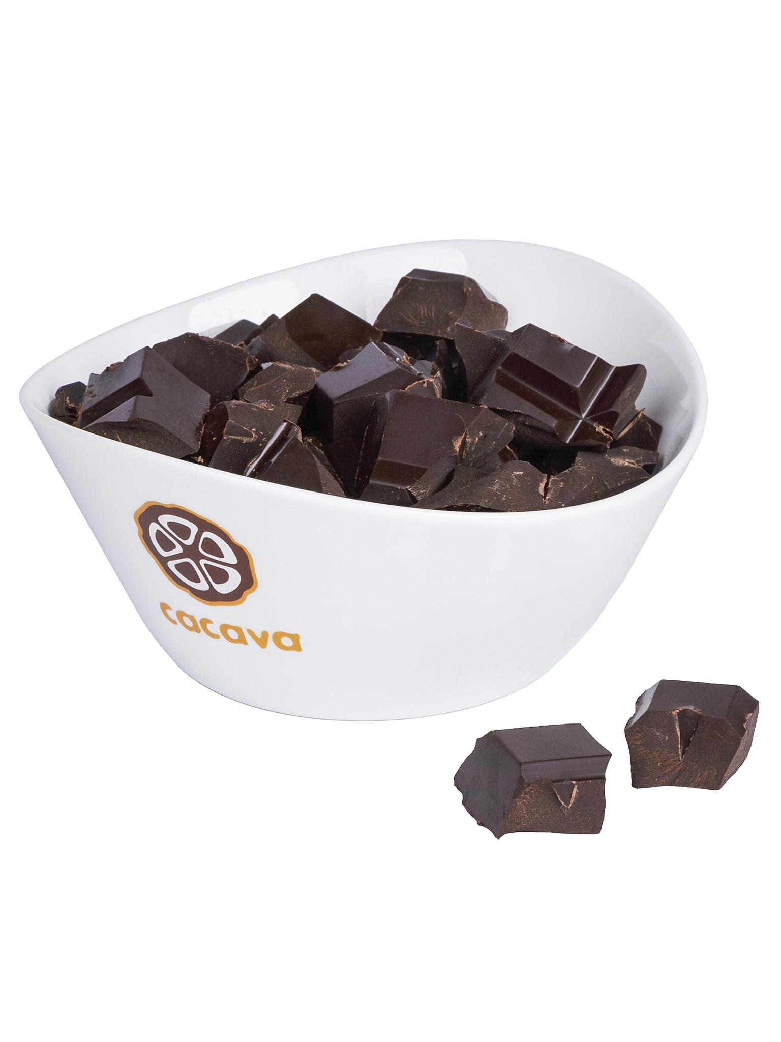 Тёмный шоколад 70 % какао (Того, Badou), внешний вид