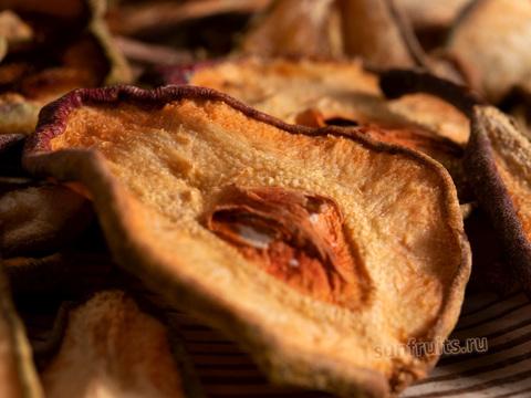 домашняя вяленая сушёная груша без добавок