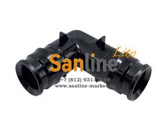 Штуцер 20x20мм Sanline Lite угловой 90гр (PPSU)