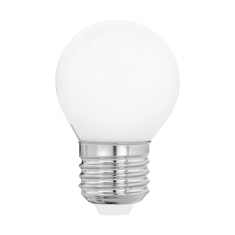 Лампа  LED филаментная из опалового стекла  Eglo MILKY LM-LED-E27 4W 470Lm 2700K G45 11605