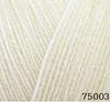 Пряжа Himalaya Angel 75003 (Молочный)
