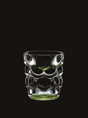 Набор из 2 стаканов для воды с зеленым донышком Bubbles, 330 мл, фото 2