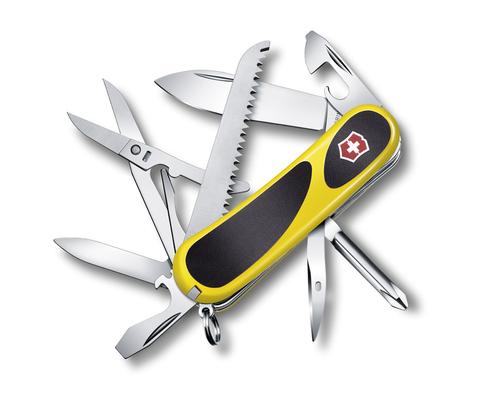Нож Victorinox EvoGrip 18, 85 мм, 15 функций, желтый123