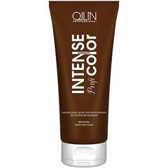 OLLIN intense profi color бальзам для коричневых оттенков волос 200мл/ brown hair balsam
