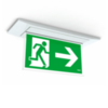 Внешний вид светодиодного светильника аварийного освещения Aestetica LED, встроенного в потолок