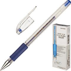 Ручка гелевая Crown HJR-500R синяя (толщина линии 0.5 мм)