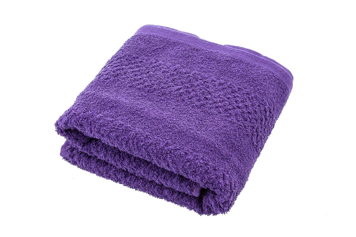 Полотенце махровое 70*140 ГК/03-057 цв. фиолетовый