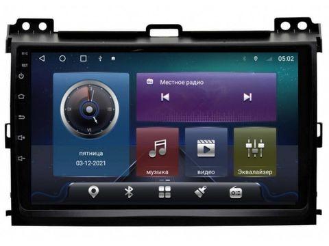 Магнитола Lexus GX/Toyota Prado 120 (02-09) Android 10 4/64 IPS DSP модель CB-2017TS10