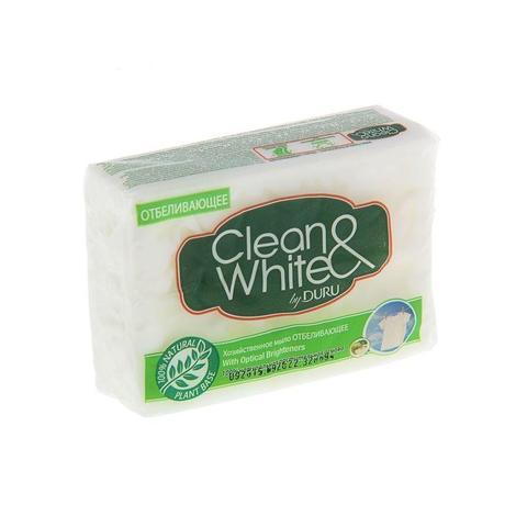 Мыло хозяйственное DURU Clean&White отбеливающие (4 шт.)