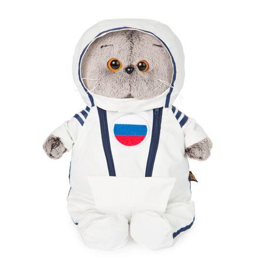 Кот Басик в костюме космонавта