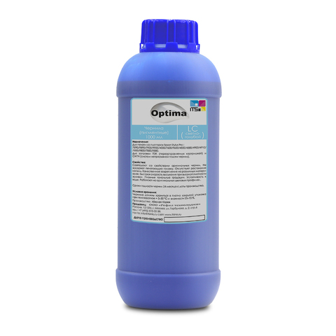 Пигментные чернила Optima для Epson 7890/9890 Light Cyan 1000 мл