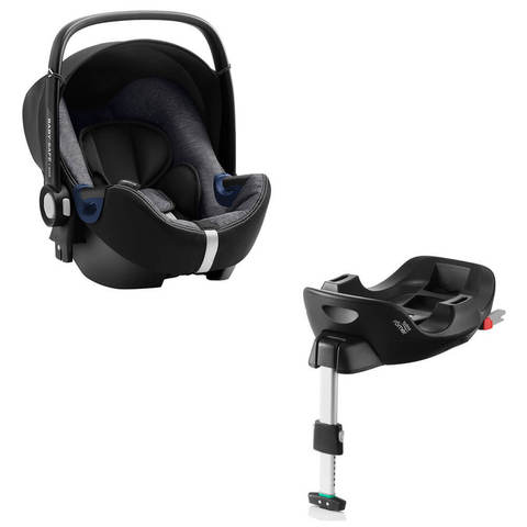 Автокресло Britax Roemer Baby-Safe2 i-Size Graphite Marble + Base Flex Isofix