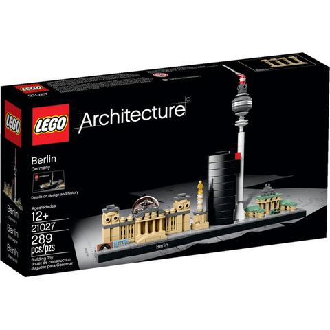 LEGO Architecture: Берлин 21027 — Berlin — Лего Архитектура