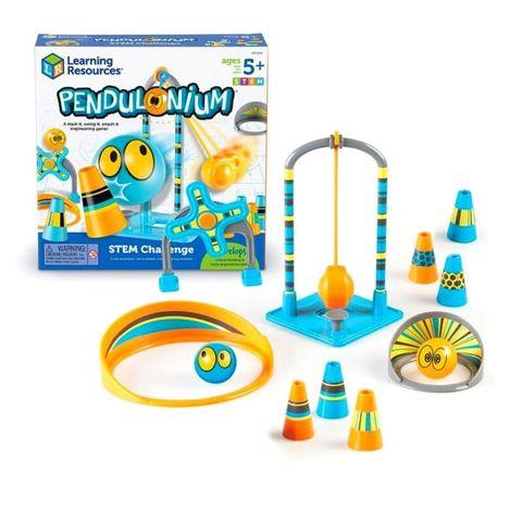 LER9288 Развивающая игрушка Попади в цель Делюкс (серия Crashapult STEM) Learning Resources