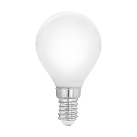 Лампа  LED филаментная из опалового стекла  Eglo MILKY LM-LED-E14 4W 470Lm 2700K P45 11604
