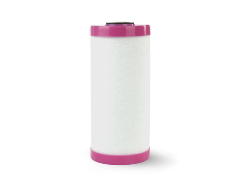 Картридж Fe-10BB Аквапост (очистка от растворенного железа, марганца и тяжелых металлов, розовый фланец)
