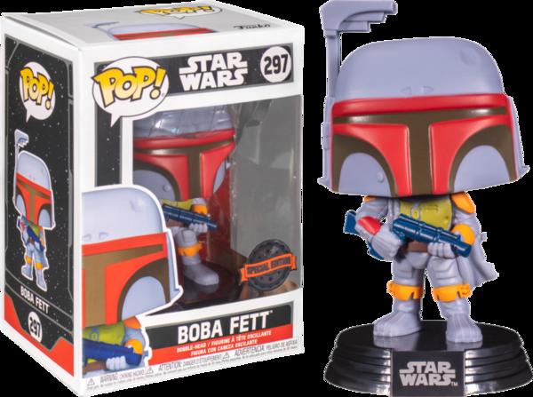 Фигурка Funko POP! Bobble Star Wars SW Vintage Boba Fett (Exc) 55819