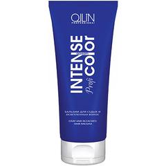OLLIN intense profi color бальзам для седых и осветленных волос 200мл/ gray and bleached hair balsam