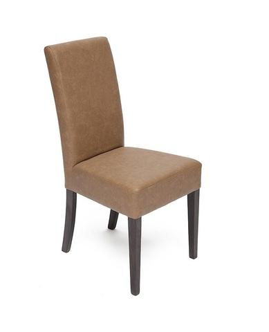 Стул обеденный Diana (Диана) деревянный с мягким сиденьем венге, коричневый