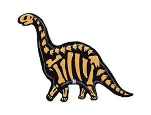 Фольгированный шар Динозавр Бронтозавр