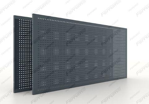 Перфорированные панели металлические 745 мм - 2 шт/уп., серия