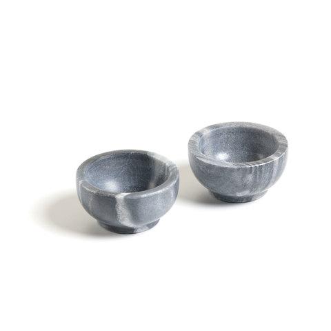 Набор Callhan из 2 чаш мраморный серый