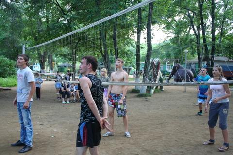 волейбол- любимая игра
