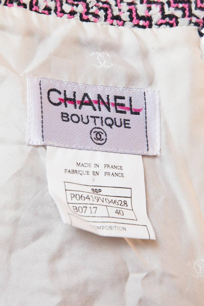 Эффектная твидовая юбка-футляр от Chanel, 40 размер