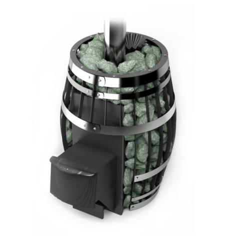 Банная печь-сетка Саяны XXL 2015 Carbon ДА ЗК