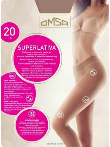 Женские колготки Superlativa 20 Omsa