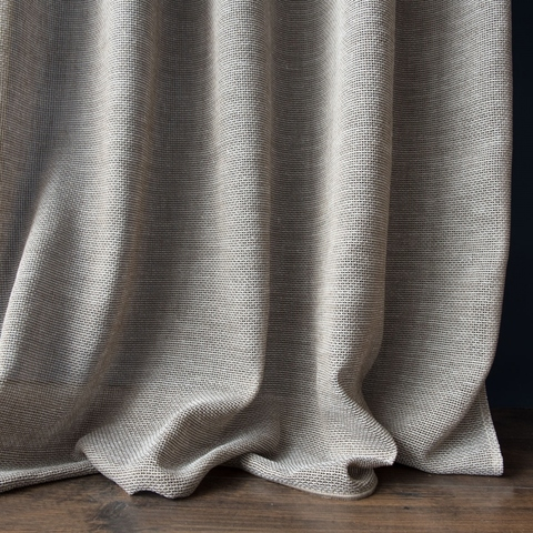 Комплект штор Альба бежево-коричневый