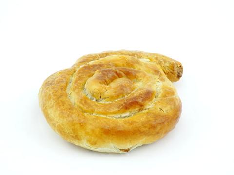 Бурек с ветчиной и сыром, 100 гр.(вл.50)