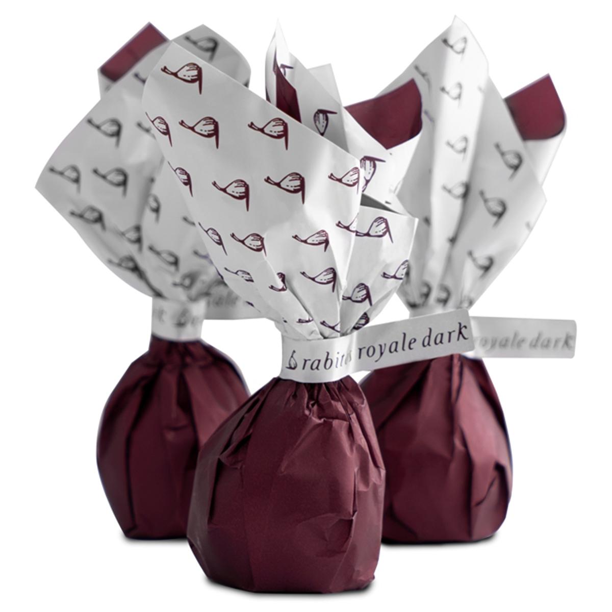 Конфеты Инжир в тёмном шоколаде начинка ганаш с бренди в метал.кор., Юбилейные Rabitos 224 г 14 конфет