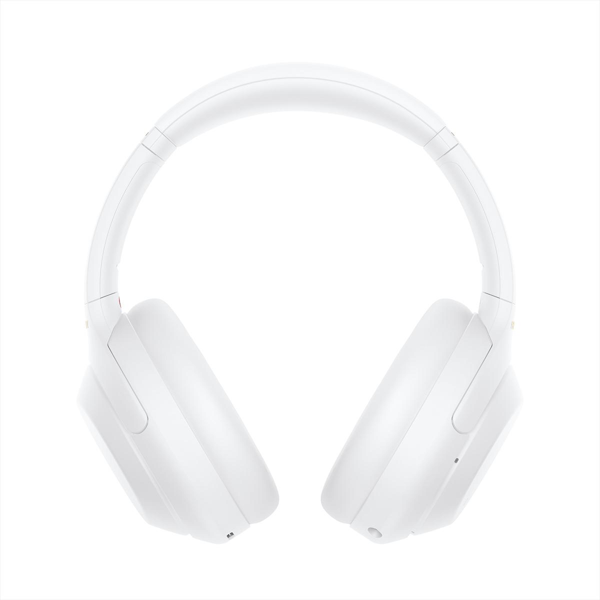 Беспроводные наушники Sony WH-1000XM4 цвета безмятежный белый