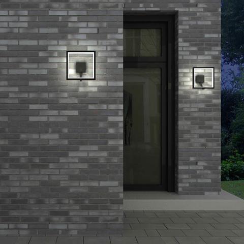 Уличный настенный светодиодный светильник 357445 серии ROCA