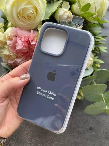 Чехол iPhone 13 Mini Silicone Case Full /midnight blue/
