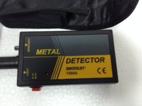 Ручной металлоискатель TS66A . Бесплатная доставка.