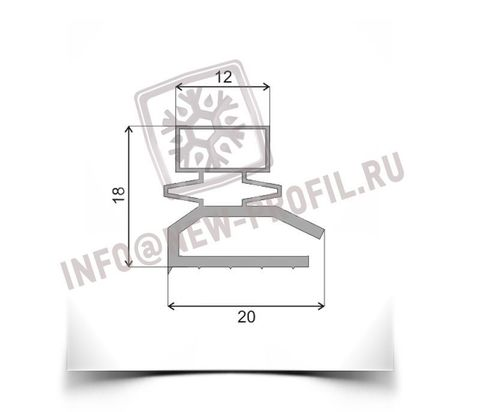 Уплотнитель для холодильной витрины Cryspi, Gamma 290*590 мм(013)