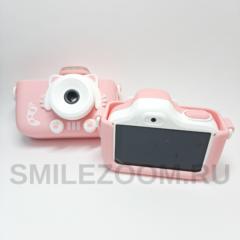 Сенсорный детский фотоаппарат SmileZoom со вспышкой и Wi-Fi