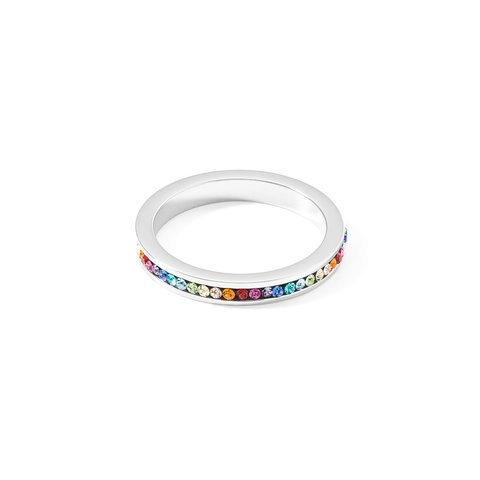 Кольцо Multicolor Silver 17,7 0129/40-1517 56