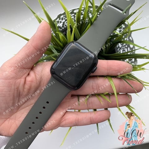Ремешок Apple watch 42/44mm Sport Band /dark olive/ темная оливка