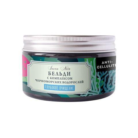 Мягкое мыло БЕЛЬДИ с морской солью и маслом базилика для глубокого очищения