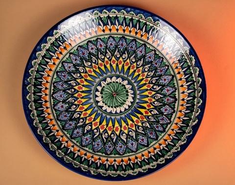 Ляган узбекский узор 42 см