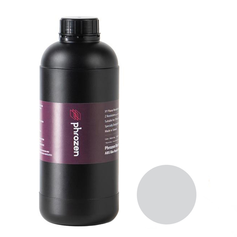 Фотополимер Phrozen Water Washable Gray, серый (1 кг)