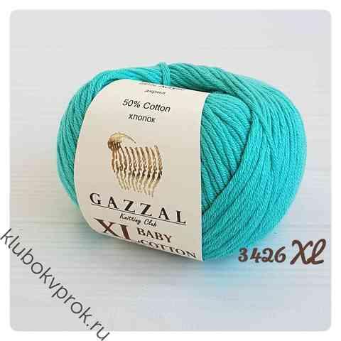 GAZZAL BABY COTTON XL 3426XL, Бирюзовый