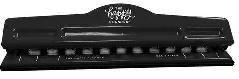 Дырокол для ежедневника  11 отверстий  The Happy Planner® BIG Punch - Black