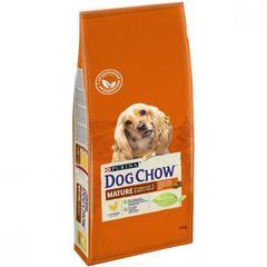 Сухой корм для собак старше 5 лет, Purina Dog Chow Mature Adult, с курицей