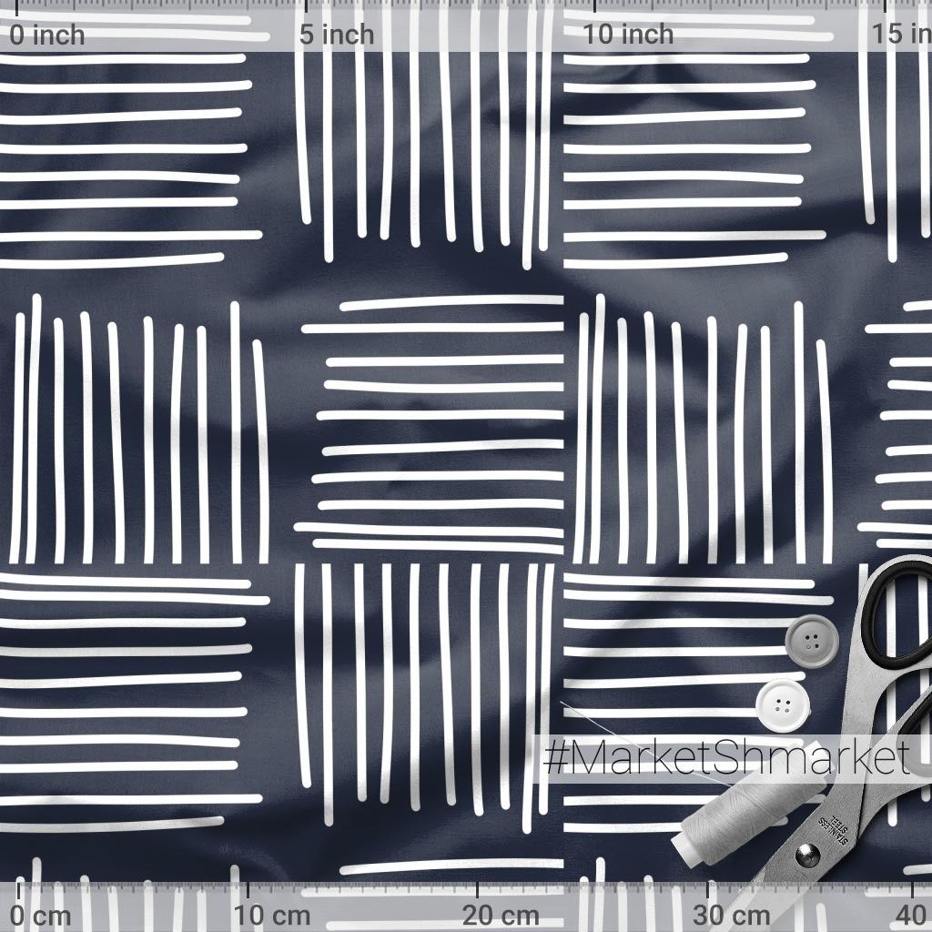 Полосатые квадраты (тёмный)