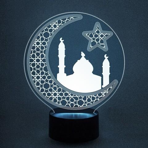 Мечеть и полумесяц